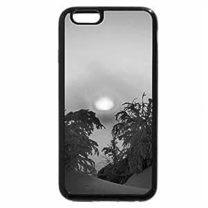 iPhone 6S Case, iPhone 6 Case (Black & White) - winter