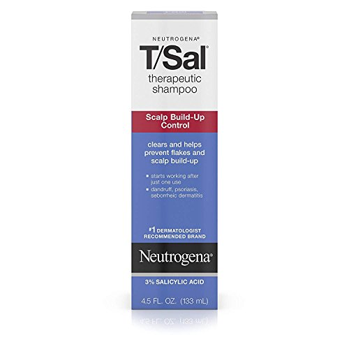 Price comparison product image Neutrogena T/Sal Shampoo, Scalp Build-up Control, 4.5 fl oz. 2 Pack