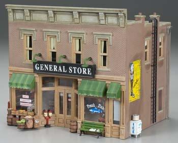 (WOODLAND SCENICS BR5841 Lubener's General Store O WOOU5841)
