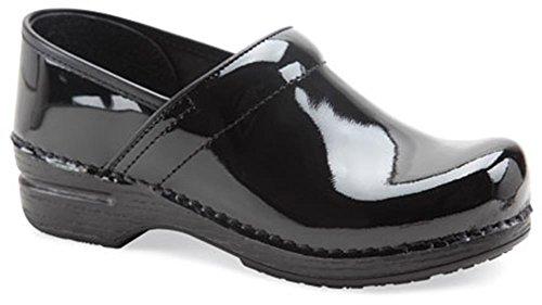 Dansko Womens Pro Xp Clog Black Patent