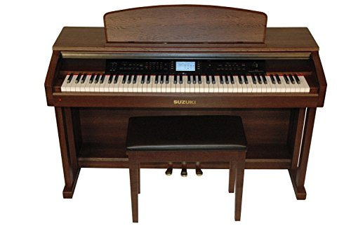 Suzuki Musical Instrument Corporation CTP-88 88-Key Classroom Teaching Piano with Matching Bench, Brown Wood Grain Finish from Suzuki Musical Instrument Corporation