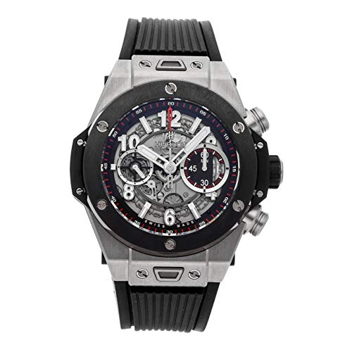 Hublot Big Bang Unico Mechanical (Automatic) Skeletonized Dial Mens Watch 411.NM.1170.RX (Certified Pre-Owned) ()