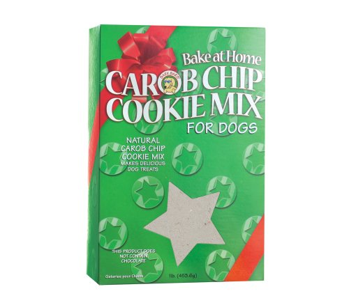 Bark Bars Bake at Home Cookie Mix Christmas Box Carob Chip Pet Treat, 16-Ounce ()