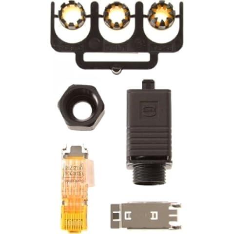 Axis Communications 5700-371 RJ45 CONNECTOR PUSH PULL PLUG IDC-8 IP67 F/ Q603X-E & P55XX-E - Pull Plug