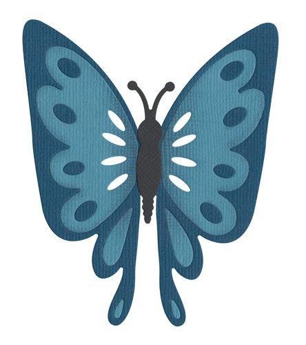 Quickutz Butterfly Die REV-0139 for Die Cut Machine ()