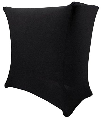 (Rockville RSC5B Universal Black DJ Scrim Cloth Cover For X Stand+Carry Bag)