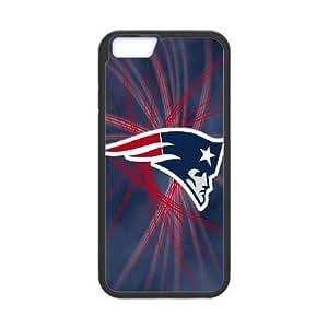 iPhone6 Plus 5.5 inch Phone Case Black New England Patriots JIL676418