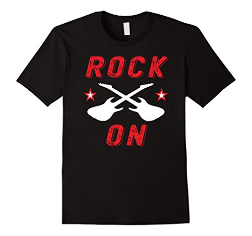 Men's Rock On Roll Metal Guitar Star Gift Idea Vintage T-...