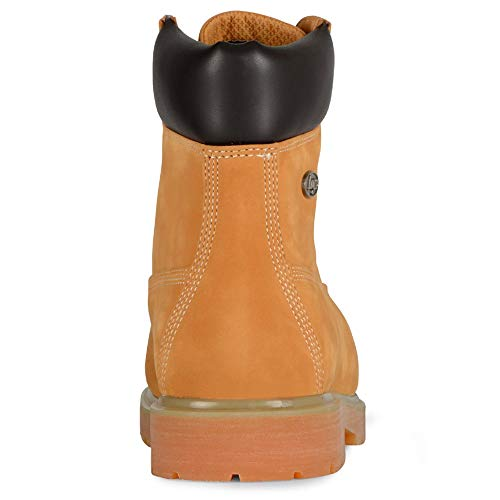 aa33f9a3751 Lugz Mens Drifter 6 Steel Toe Work/Duty Boots Tan 12