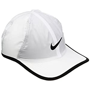 Nike Mens Signature Dri FIT Featherlight Ball Cap (One Size, White)