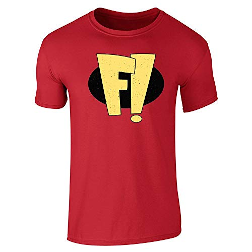 Freak Out! Superhero Halloween Costume Red S Short Sleeve T-Shirt ()