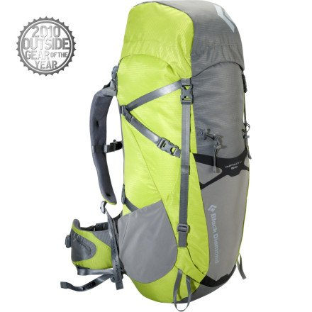 Black Diamond Infinity 50 Camping Backpack, Gecko, Large, Outdoor Stuffs
