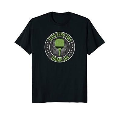 Zero Zero Two Game On Pickleball T-Shirt Men Women Kids