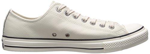 Converse Chuck Taylor All Star, Zapatillas Altas Unisex Adulto Beige (Parchment/Black/WhiteParchment/Black/White)
