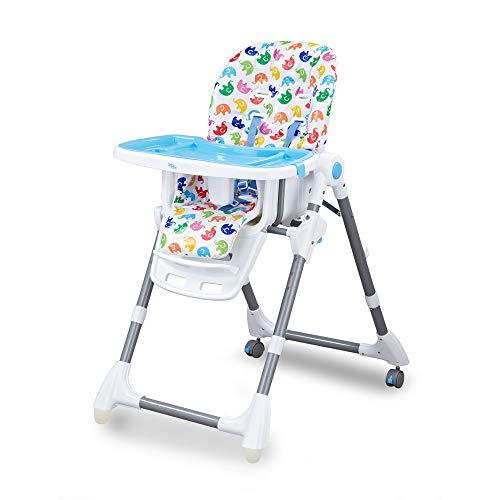 Cadeira Cadeirão Alimentação Bebe Cherry Baby Style (AZUL)