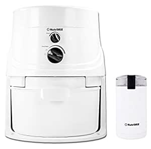 NutriMill Classic High-Speed Grain/Flour Mill with Mini Seed/Coffee Mill