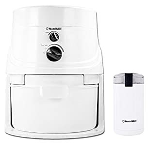 L'EQUIP NutriMill Classic High-Speed Grain/Flour Mill : Its awesome! and the lil f=grinder is great for my