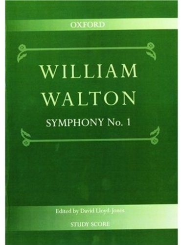 Symphony No. 1: Study score (William Walton Edition) PDF