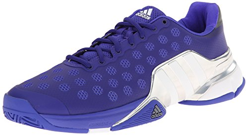 adidas Performance Men's Barricade 2015 Tennis Shoe Night Flash/White/Bright Red 8 M US
