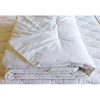 Image of Holy Lamb Organics Cozy Buns Organic Wool Crib Mattress Topper Baby
