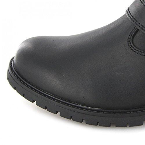 FB Fashion Boots Harley Davidson Paxton D93260 Black/Herren Bikerstiefelette Schwarz/Harley Biker Boots, Groesse:44