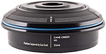 Cane Creek 40 Series ZS Headset Short Top 1-1/8 Threadless 44mm Black by Cane Creek