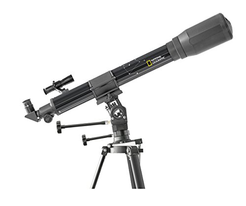 National Geographic Refractor Telescope 70/900 with Multi Purpose Mount and...