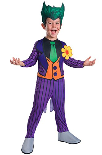 Rubie's Costume Boys DC Comics The Joker Costume, Medium, (Batman The Joker Costume)
