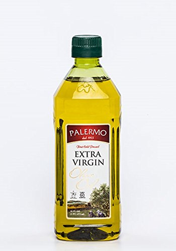 First Pressed Olive Oil (Palermo First Cold Pressed Extra Virgin Olive Oil 16 Oz (1)