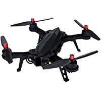SHY-Drone Quadcopter- MJX B6 Bugs 6 Drone RC RTF Brushless 5.8G FPV High resolution 720P Camera Capacity Battery Racing, Flight Stability and Easy to Fly for Beginner, Black