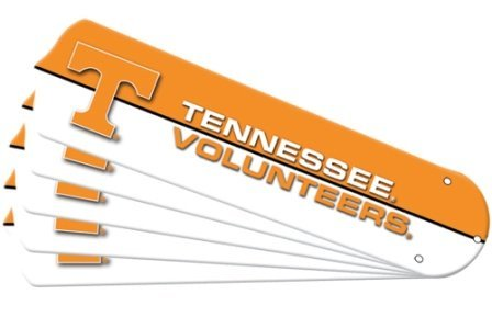 Ceiling Fan Designers 7992-TEN New NCAA TENNESSEE VOLUNTEERS VOLS 42 in. Ceiling Fan Blade Set