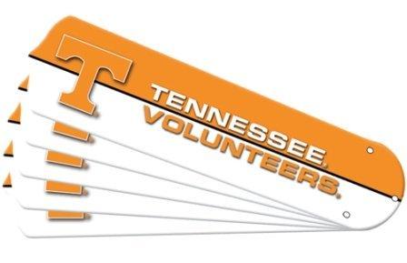 Ceiling Fan Designers 7992-TEN New NCAA TENNESSEE VOLUNTEERS VOLS 42 in. Ceiling Fan Blade Set by Ceiling Fan Designers