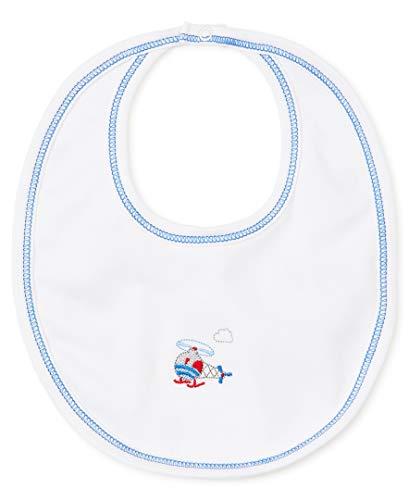 Kissy Kissy Baby-Boys Infant Honk Reversible Bib-Multicolored-One Size ()