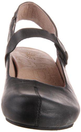 OTBT Damen Springfield Mule, Schwarz Leder, 6m US Black Leather