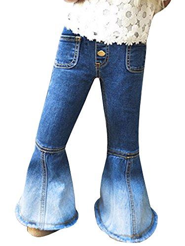 Denim Bell Bottom Jeans - 6