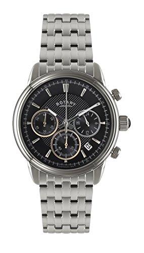 Rotary GB02876/04 Mens Monaco Chronograph Watch w/ Date