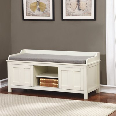 - Lakeville Storage Bench