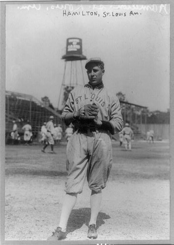 (Photo: Earl Andrew Hamilton,1891-1968,left-handed pitcher,St Louis Browns,baseball)