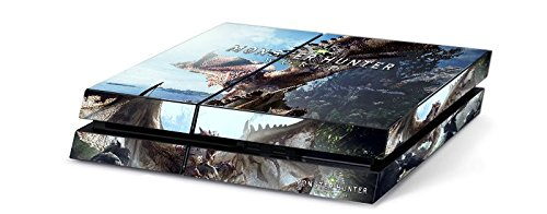 Monster Hunter World Mhw Game Skin For Sony Playstation 4 Ps4 Console