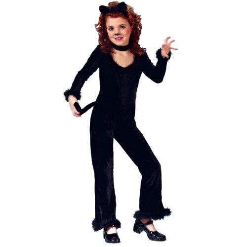 Playful Kitty Medium (8 To (Black Cat Costume For Halloween)