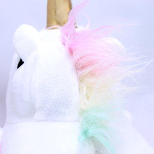 Ciabatte Katara Aperte Unica Casa Uomo Donna Peluche Bianco Adulti 44 Unicorno Pantofole Da Taglia Invernali 1695 36 FwBqrFv
