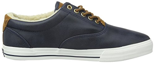 Navy Knights Blue Cognac Men's 02 Low Top Sneakers Decoy British C0wqA1xOq