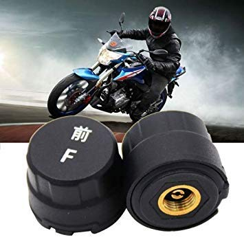 Uniqus Motorcycle blueetooth Tire Pressure Monitoring System TPMS Mobile Phone APP Detection 2 External Sensors