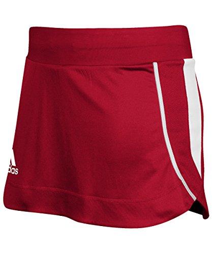 (adidas Women's Climacool Utility Skort - Power Red/White - Medium)