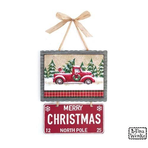 Burton & Burton Wall Hanging Merry Christmas