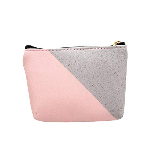 wsloftyGYd Forest Moon Marble Women Faux Leather Coin Purse Small Wallet Card Holder Clutch 1#