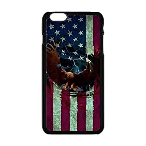 LJF phone case Bald Eagle Cell Phone Case for Iphone 6 Plus