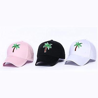HNE&NQA Sports Denim Cap Palm Tree Men Women Snapback Caps Adjustable Baseball Cap from CHEN
