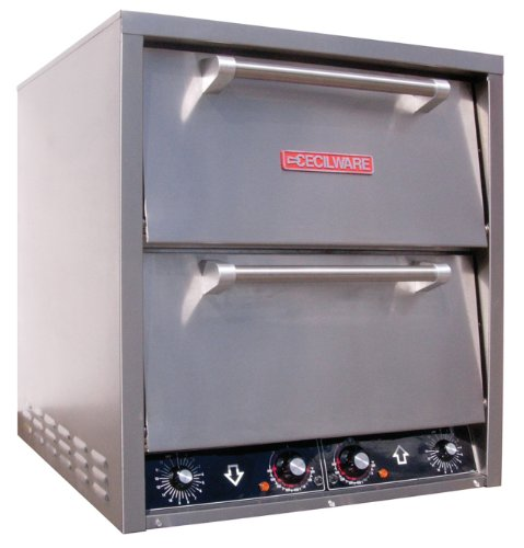 Grindmaster-Cecilware P044 Countertop Stainless Steel Baking Decks Pizza Oven, 20.25 by 20.5-Inch