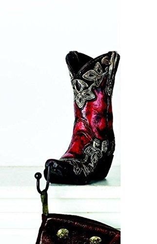 Boot Christmas Stocking - Burton and Burton Cowboy Boots Christmas Stocking Holder, Red Boot
